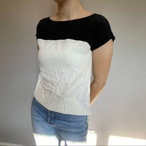 Kate Spade Two Tone T-Shirt Blouse